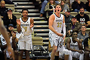 Vanderbilt Commodores guard Darius Garland (10) and Vanderbilt Commodores forward Matt Ryan (32) react from the bench during the second half of a NCAA college basketball game against the Alcorn State Braves in Nashville, Tenn., Friday, Nov 16, 2018. Vanderbilt won 79-54. (Jim Brown/Image of Sport)