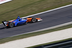 April 20, 2018 - Birmingham, Alabama, United States of America - April 20, 2018 - Birmingham, Alabama, USA: SCOTT DIXON (9) of New Zealand takes to the track to practice for the Honda Grand Prix of Alabama at Barber Motorsports Park in Birmingham, Alabama. (Credit Image: © Justin R. Noe Asp Inc/ASP via ZUMA Wire)