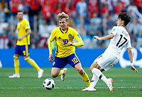 Emil Forsberg (Sweden) and Jaesung Lee (Korea Republic)<br /> Nizhny Novgorod 16-06-2018 Football FIFA World Cup Russia  2018 <br /> Sweden - South Korea / Svezia - Corea del Sud <br /> Foto Matteo Ciambelli/Insidefoto