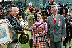 Van Herck Staf, BEL, chef d'equipe<br /> CHIO Aachen 2002<br /> © Hippo Foto - Dirk Caremans<br /> 21/05/2006