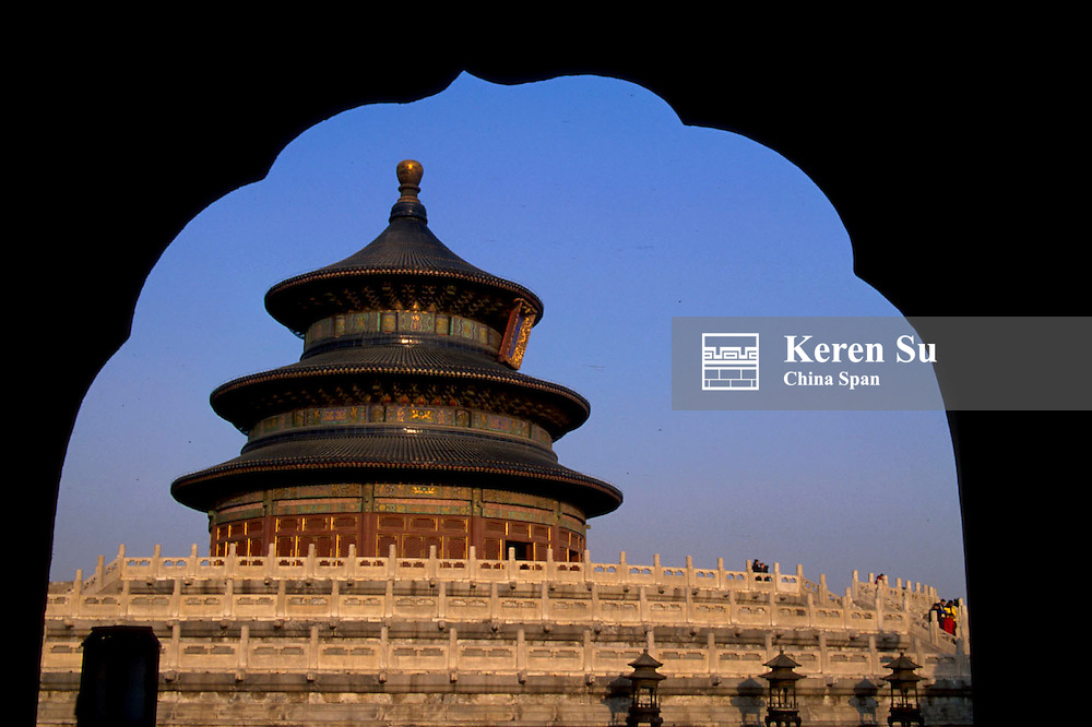 Hall of Prayer for Good Harvest in Temple of Heaven, Beijing, China