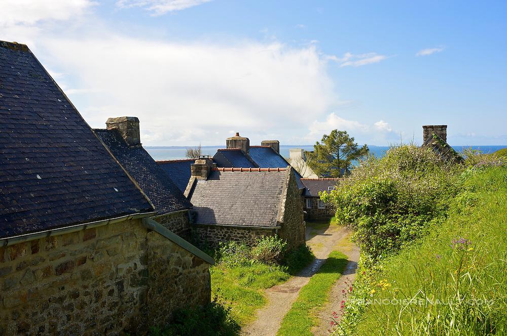 Presqu'ile de Crozon, Bretagne, France. Crozon peninsula, Brittany, France.