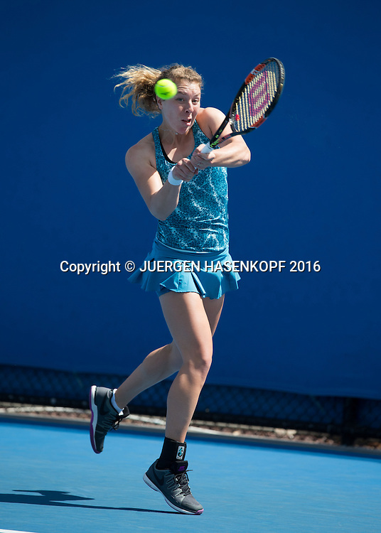 Anna-Lena Friedsam, Australian Open 2016<br /> <br /> Tennis - Australian Open 2016 - Grand Slam ITF / ATP / WTA -  Melbourne Park - Melbourne - Victoria - Australia  - 18 January 2016.