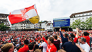 Liverpool fans in party mood in Basel city centre ahead of the UEFA Europa League Final against Sevilla.<br /> Picture by EXPA Pictures/Focus Images Ltd 07814482222<br /> 18/05/2016<br /> ***UK &amp; IRELAND ONLY***<br /> EXPA-FEI-160518-0047.JPG