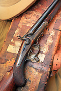 Charles Lancaster 500/450 double rifle, built in 1891.