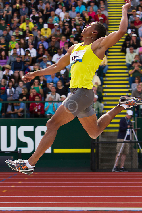 George Kitchens Jr. long jumps onto Olympic team