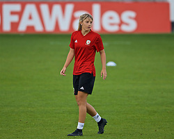 NEWPORT, WALES - Monday, September 2, 2019: Wales' Gemma Evans during a training session at Rodney Parade ahead of the UEFA Women Euro 2021 Qualifying Group C match against Northern Ireland. (Pic by David Rawcliffe/Propaganda)