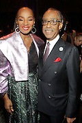 January 30, 2017-New York, New York-United States: (L-R) Susan L. Taylor, Founder, National CARES Mentoring Movement and Rev. Al Sharpton, Founder & President National Action Network attend the National Cares Mentoring Movement 'For the Love of Our Children Gala' held at Cipriani 42nd Street on January 30, 2017 in New York City. The National CARES Mentoring Movement seeks to dispel that notion by providing young people with role models who will play an active role in helping to shape their development.(Terrence Jennings/terrencejennings.com)