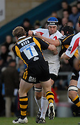 Wycombe, Great Britain Falcon's, Geoff PARLING, during the Guinness Premiership Game London Wasps vs Newcastle Falcon at Adams Park, England, on Sunday 25/11/2007   [Mandatory Credit. Peter Spurrier/Intersport Images]