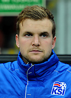 Uefa - World Cup Fifa Russia 2018 Qualifier / <br /> Iceland National Team - Preview Set - <br /> Ingvar Jonsson