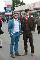 29/07/2017 Gordon Browne and Patrick Fox from Galway on  the third day of the Galway Races summer Festival  Plate day .   Photo:Andrew Downes, xposure