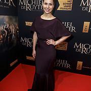 NLD/Amsterdam/20150126 - Premiere Michiel de Ruyter, cast, Sanne Langelaar