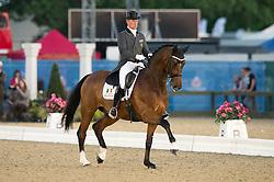 Tong Roland (IRL) - Pompidou<br /> CDI3* Grand Prix Freestyle <br /> Royal Windsor Horse Show 2014<br /> © Hippo Foto - Jon Stroud