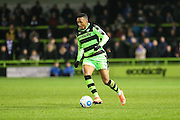 Forest Green Rovers Keanu Marsh-Brown(7) runs forward during the Vanarama National League match between Forest Green Rovers and Tranmere Rovers at the New Lawn, Forest Green, United Kingdom on 22 November 2016. Photo by Shane Healey.