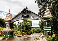 Portal da cidade. Sul Brasil, Santa Catarina, Brasil. / City gate. Sul Brasil, Santa Catarina, Brazil.