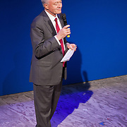 Ken Livingstone. TEN, a benefit event for Stop the War at the Royal Court, London.