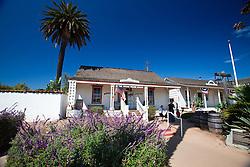 Exterior of the Casa de Pedrorena de Altamirano / Assayers Office, Old Town San Diego, California, United States of America