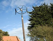 Domestic circular wind turbine