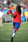 Buffalo Bills wide receiver Sammy Watkins (14) catches a pre game pass before the 2014 NFL Pro Football Hall of Fame preseason football game against the New York Giants on Sunday, Aug. 3, 2014 in Canton, Ohio. The Giants won the game 17-13. ©Paul Anthony Spinelli