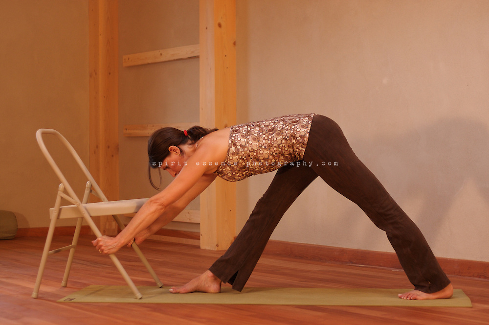 Restorative Yoga using bolsters, blankets, straps and blocks with Tias & Surya Little