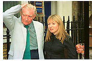 PAUL JOHNSON; MARY KILLEN, Spectator party. Doughty St. 7 June 2000. SUPPLIED FOR ONE-TIME USE ONLY> DO NOT ARCHIVE. © Copyright Photograph by Dafydd Jones 248 Clapham Rd.  London SW90PZ Tel 020 7820 0771 www.dafjones.com