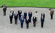 SOMME - FRANCE- 1st July 2016: The 100th anniversary of the Battle of The Somme in northern France.<br /> <br /> Members of the Royal Family including HRH The Prince of Wales and the Duchess of Cornwall with The Duke and Duchess of Cambridge, and Prince Harry attend a Memorial service held at the Thiepval Somme Memorial to mark the 100th Anniversary of the Battle of the Somme which started on the 1st July 1916.<br /> ©Ian Jones/Exclusivepix Media