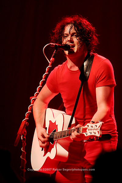 Jack White and Meg White - The White Stripes, performing at The Filmore East at Irving Plaza on June 19, 2007