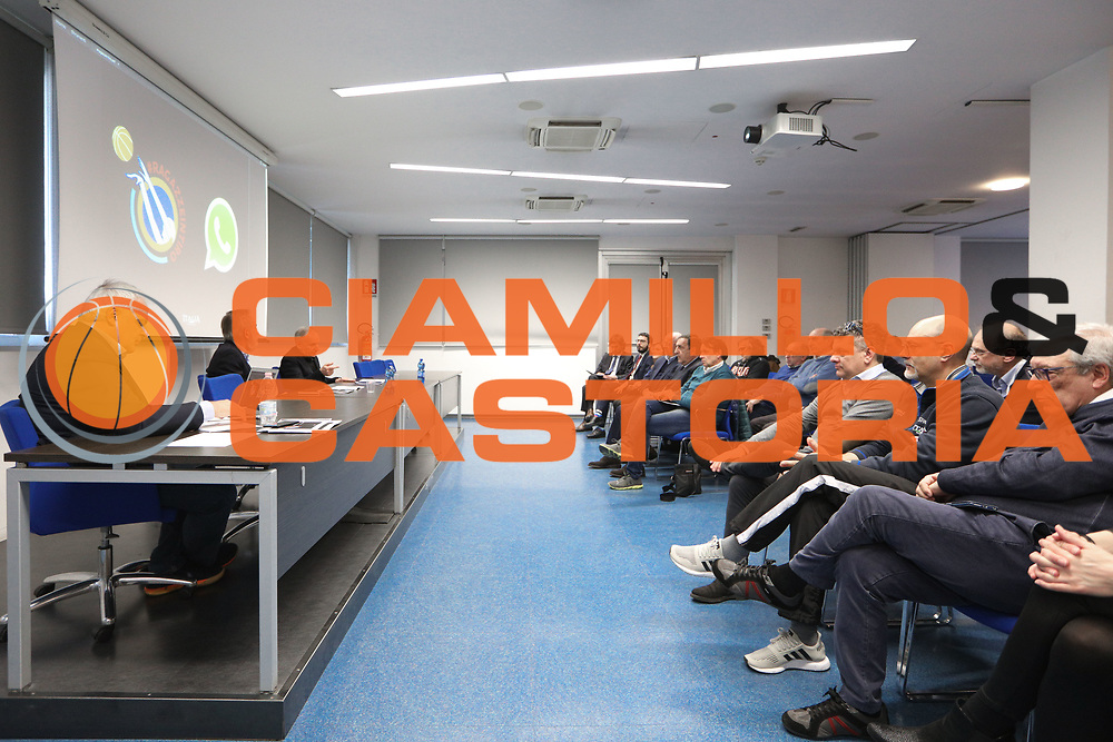 """panoramica<br /> Conferenza Stampa Presentazione Progetto """"Ragazze in Tiro""""<br /> FIP 2018<br /> Milano, 30/03/2018<br /> Foto F. Bertani / Ciamillo - Castoria"""