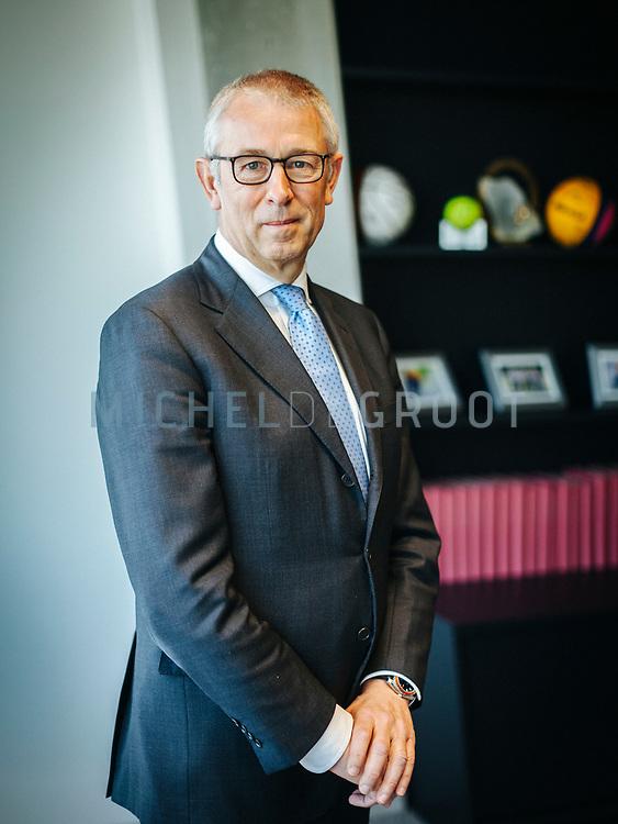 Eelco Blok, (vertrekkend) CEO KPN