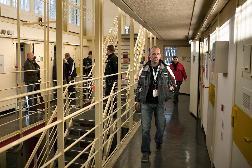 veenhuizen 20101106. Opendag gevangenis Esserheem. cellencomplex. foto: Pepijn van den Broeke. kilometers: 82