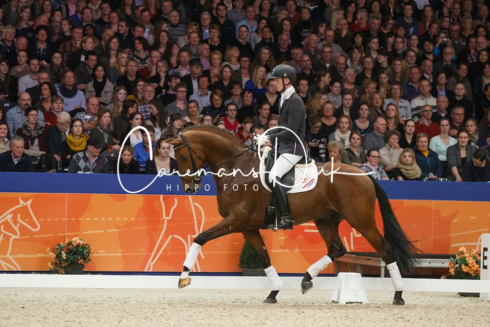 Van Silfhout Diederik (NED) - Expression<br /> KWPN Stallion Selection - 's Hertogenbosch 2014<br /> © Dirk Caremans