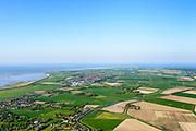 Nederland, Friesland, Gemeente Hollands Kroon, 07-05-2018; Overzicht voormalig eiland Wieringen met Westerland in de voorgrond<br /> Former island of Wieringen, overview from the west.<br /> <br /> luchtfoto (toeslag op standaard tarieven);<br /> aerial photo (additional fee required);<br /> copyright foto/photo Siebe Swart