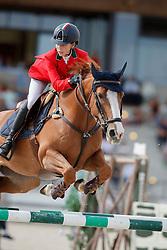 Bertolla Giulia, ITA, Ti Lann du Up of Heritage<br /> Children European Championships Jumping <br /> Samorin 2017© Hippo Foto - Dirk Caremans<br /> 12/08/2017