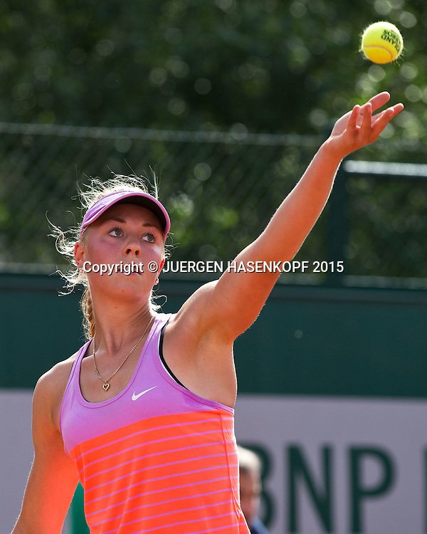 Carina Witthoeft (GER)<br /> <br /> Tennis - French Open 2015 - Grand Slam ITF / ATP / WTA -  Roland Garros - Paris -  - France  - 25 May 2015.