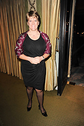 CLARE BALDING at the 20th annual Cartier Racing Awards - the most prestigious award ceremony within European horseracing, held at The Dorchester Hotel, Park Lane, London on 16th November 2010.