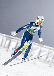 February 8, 2019 - Lahti, Finland - Martin Hamann competes during FIS Ski Jumping World Cup Large Hill Individual Qualification at Lahti Ski Games in Lahti, Finland on 8 February 2019. (Credit Image: © Antti Yrjonen/NurPhoto via ZUMA Press)