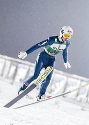 February 8, 2019 - Lahti, Finland - Martin Hamann competes during FIS Ski Jumping World Cup Large Hill Individual Qualification at Lahti Ski Games in Lahti, Finland on 8 February 2019. (Credit Image: © Antti Yrjonen/NurPhoto via ZUMA Press)
