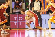 DESCRIZIONE : Roma Lega A 2011-12 Acea Virtus Roma Scavolini Siviglia Pesaro<br /> GIOCATORE : Daniele Cavaliero<br /> CATEGORIA : palleggio equilibrio<br /> SQUADRA : Scavolini Siviglia Pesaro<br /> EVENTO : Campionato Lega A 2011-2012<br /> GARA : Acea Virtus Roma Scavolini Siviglia Pesaro<br /> DATA : 11/01/2012<br /> SPORT : Pallacanestro<br /> AUTORE : Agenzia Ciamillo-Castoria/GiulioCiamillo<br /> Galleria : Lega Basket A 2011-2012<br /> Fotonotizia : Roma Lega A 2011-12 Acea Virtus Roma Scavolini Siviglia Pesaro<br /> Predefinita :