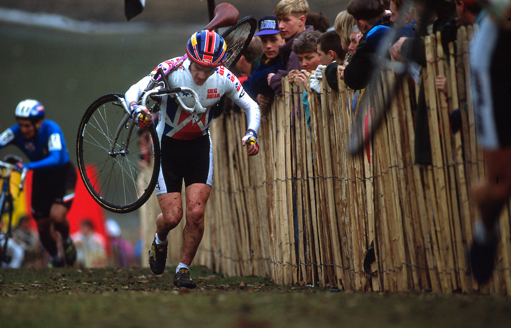 World Cyclocross Championships, Roundhay Park, Leeds, UK. 1992