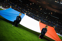 Illustration drapeau France - 26.03.2015 - France / Bresil - Match Amical<br />