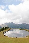 Isskogel mountain peak near Gerlos, Tyrol, Austria