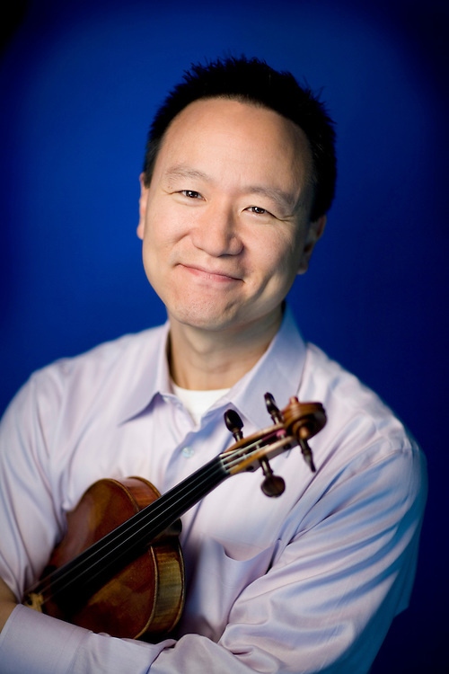 David Kim is the concertmaster and principal violinist for The Philadelphia Orchestra.
