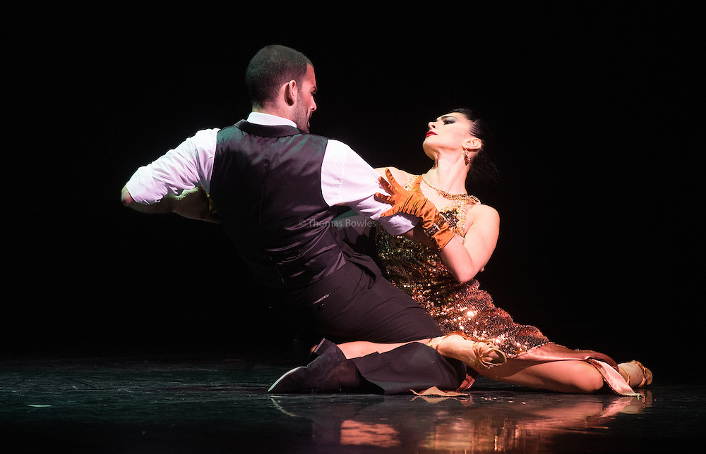 German Cornejo and Gisela Galeassi in Imortal Tango at the Peacock Theatre.
