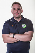 Head of Recruitment Richard Hughes during the official team photocall for Forest Green Rovers at the New Lawn, Forest Green, United Kingdom on 29 July 2019.