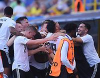 FUSSBALL UEFA U21-EUROPAMEISTERSCHAFT Halbfinale 2019  in Italien  Deutschland - Rumaenien    27.06.2019 TEAMJUBEL Deutschland, Torschuetze zum 4-2 Nadiem Amiri (Mitte)