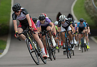 Competitors in action during the Prudential RideLondon Youth Grand Prix - Youth A Boys. Prudential RideLondon 28/07/2017<br /> <br /> Photo: Tom Lovelock/Silverhub for Prudential RideLondon<br /> <br /> Prudential RideLondon is the world's greatest festival of cycling, involving 100,000+ cyclists – from Olympic champions to a free family fun ride - riding in events over closed roads in London and Surrey over the weekend of 28th to 30th July 2017. <br /> <br /> See www.PrudentialRideLondon.co.uk for more.<br /> <br /> For further information: media@londonmarathonevents.co.uk
