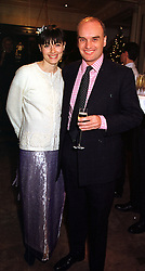 MR & MRS NICHOLAS COLERIDGE he is managing director of Conde Nast, at a party in London on 1st December 1999.MZR 28