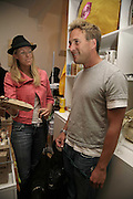 Marcia  Hunt and Ben Fogle, Opening of The Mutz Nutz; Westbourne Park Rd. London. 23 August 2006.  ONE TIME USE ONLY - DO NOT ARCHIVE  © Copyright Photograph by Dafydd Jones 66 Stockwell Park Rd. London SW9 0DA Tel 020 7733 0108 www.dafjones.com