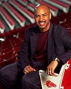 University of Arkansas Men's Basketball Head Coach Stan Heath hired during the 2001-2002 Season.