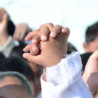 Toluca, México (Enero 30, 2017).- David López Cárdenas, presidente municipal de Métepec, en el marco del Día de la no Violencia y la Paz para la Convivencia Escolar Armónica, destacó que en todo el municipio se llevan a cabo Jornadas por la Paz con niñas y niños, maestros y padres de familia, para sensibilizarlos a no participar en juegos no bélicos, y la importancia del respeto, solidaridad y tolerancia.  Agencia MVT / José Hernández.